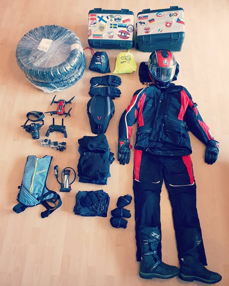 Go South – The Patagonia Ride – The Riding Gear