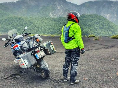 Patagonia on R1200GS | Ep. 2 – Conguillo National Park – The Llaima Volcano