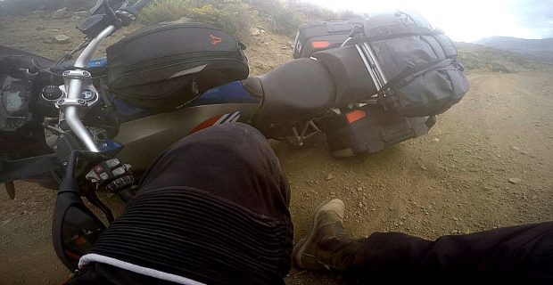 Patagonia on R1200GS | Crashes, Bike Drops and Close Calls
