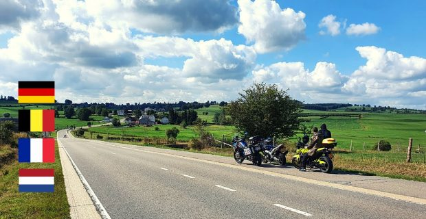 Germany, Belgium, France, Netherlands on the BMW R1200GS in 1 DAY – Trip to Eifel